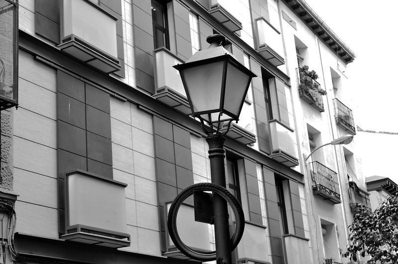 Cartel en Calles de Madrid