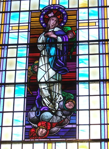 Church of the Assumption - stained glass window