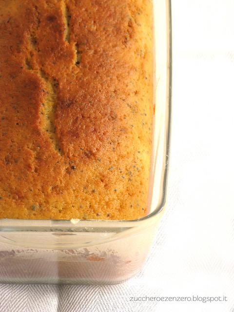 Cake lime e semi di papavero