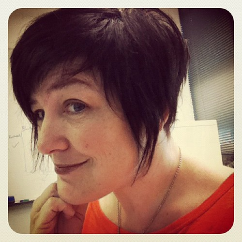 Compliments on new haircut at work. Great way to start the day. #selfie by catspyjamasnz