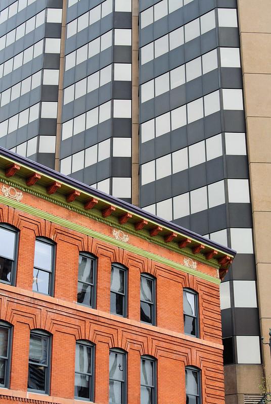 Contrasting Buildings