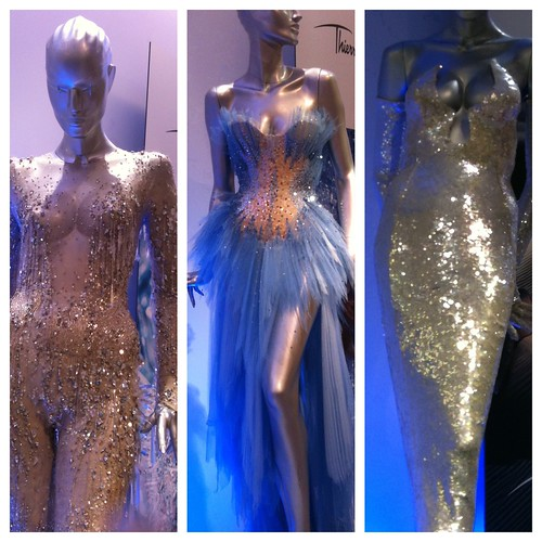 Thierry Mugler's Angel gowns