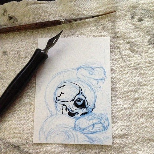 New Death Viper card in the works. by Bebop'n