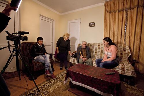 Interviste alle famiglie di Tserovani Georgia