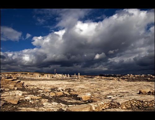 old sky stone clouds ruins stones colonne antiquity rovine antichità oldstones kıbrıs d90 cielonuvoloso nikond90 κύπροσ paulfenis mygearandme blinkagain historycsites