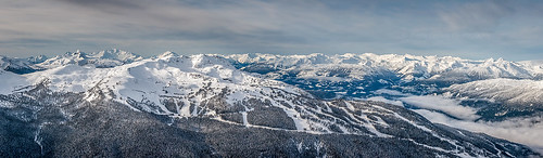 winter panorama snow storm nature landscape snowboarding skiing dump resort whistlermountain pierreleclercphotography