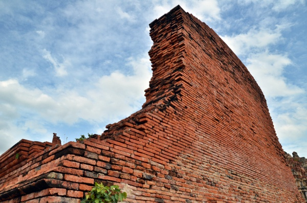 The Walls of Wat Mahatat