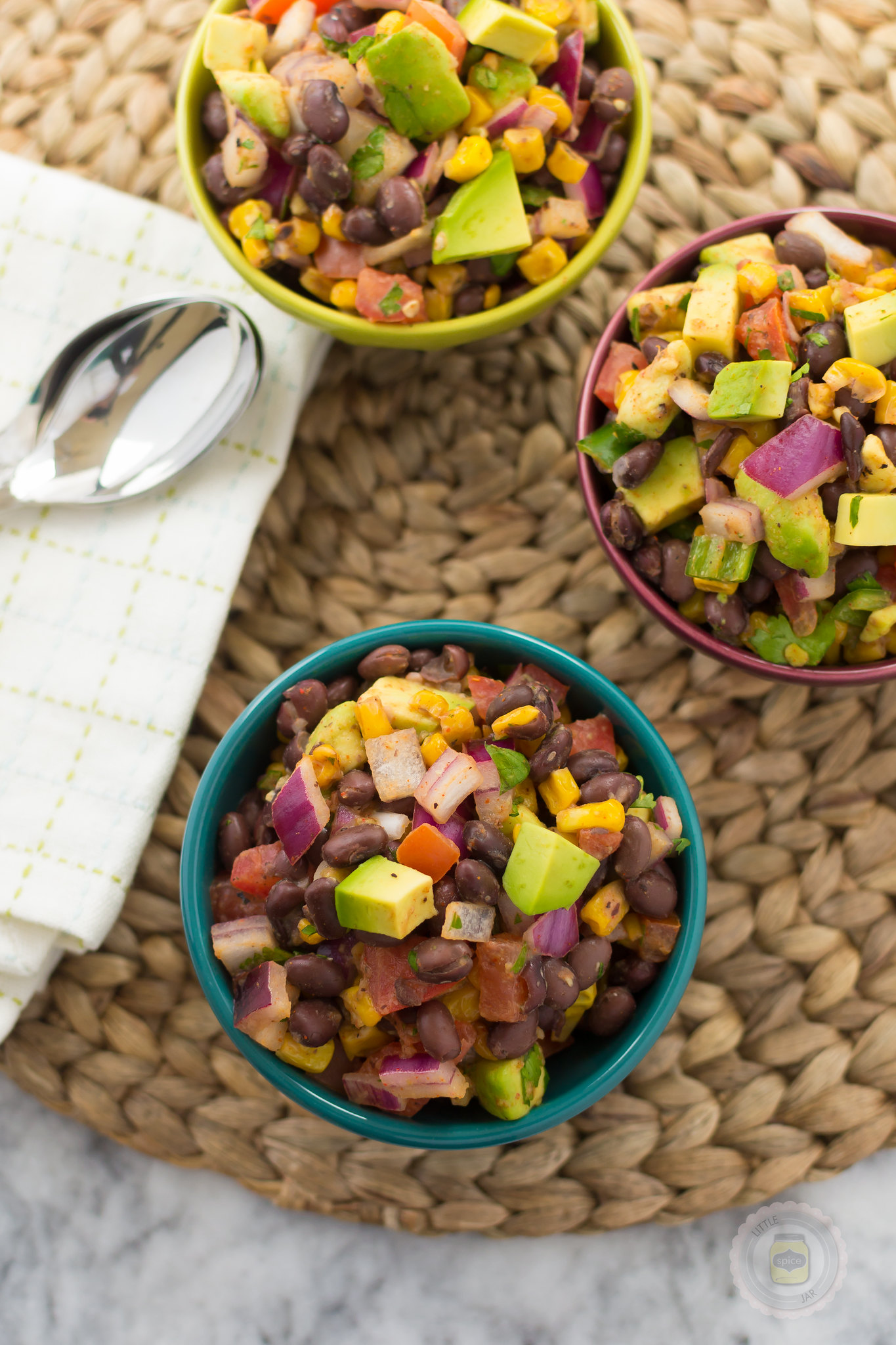 Southwestern Black Bean and Roasted Corn Salad 12