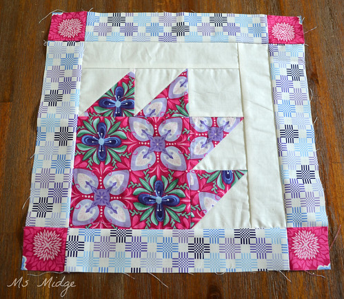 Aurifil Designer Block of the month April