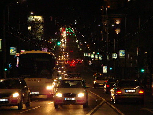 Lights of Belgrade Streets...