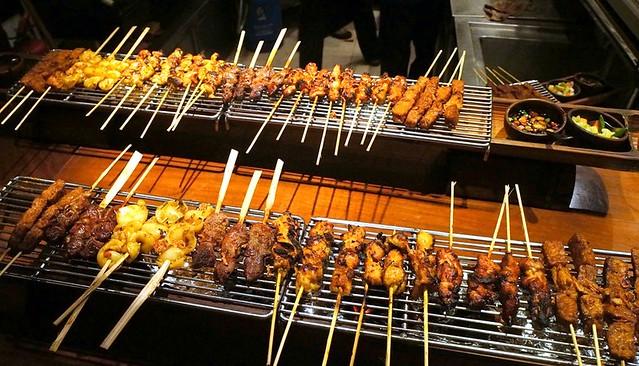 sate - indonesian - harum manis restaurant