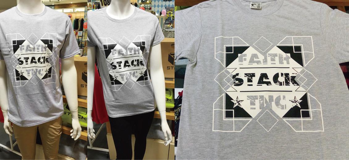 stack-faith-tnc-短t-麻花灰
