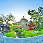 Temple gardens