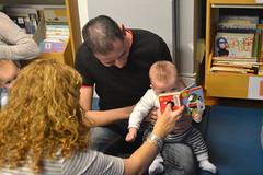 Bebencontros (0-12 meses) na Biblioteca Infantil e Xuvenil (Durán Loriga)