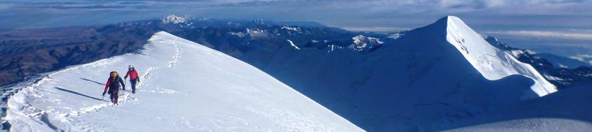 Bolivien Sechstausender-Trilogie Huayna Potosí, 6088 m, Illimani, 6460 m, Nevado Sajama, 6542 m, Cerro Austria, Pequeno Alpamayo