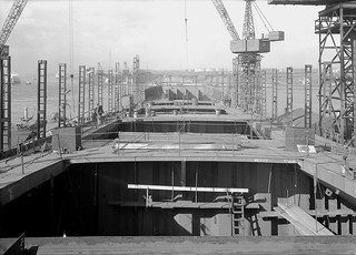 'Hudson Light' under construction at Readhead's shipyard