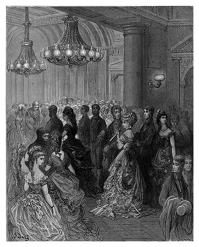 021-Un baile en Mansion House-London A Pilgrimage 1890- Blanchard Jerrold y Gustave Doré- © Tufts Digital Library