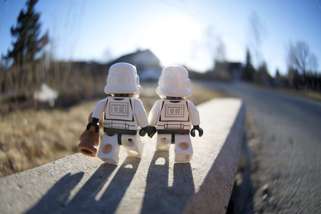 Out searching for the droids