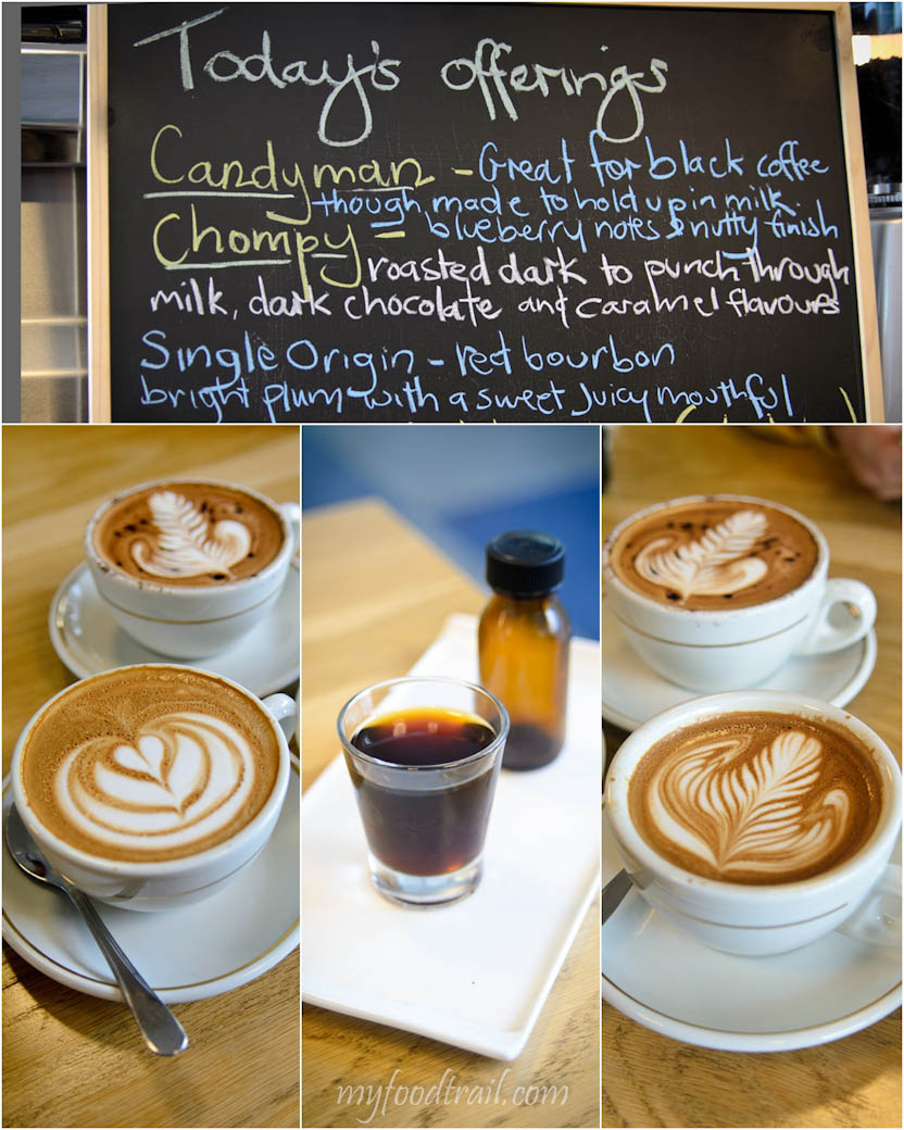 The Reading Room Cafe - Coffees