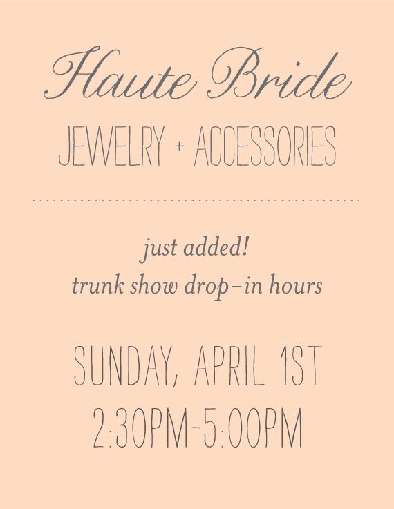 HAUTE-BRIDE
