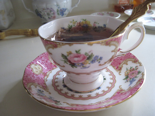 Lady Carlyle cup & saucer