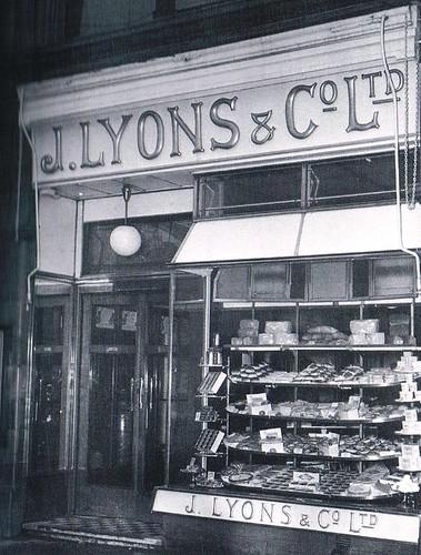 Hammersmith: A typical J Lyons Teashop