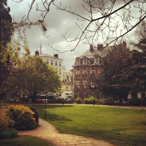 Rouen parks by la casa a pois