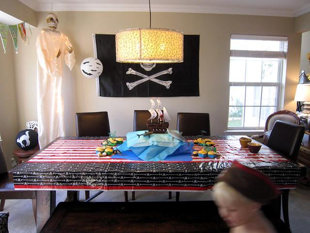 Pirate Ship Birthday Cake Ocean Homemade - web