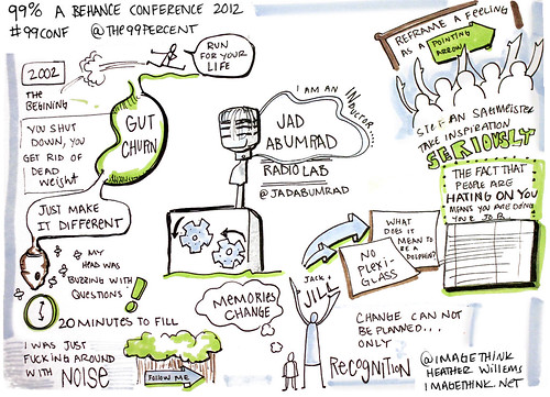 ImageThink Notes: Jad Abumrad at The 99% Conference