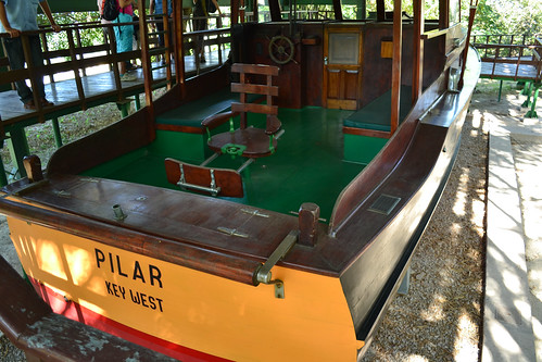 Hemingway's yacht Pilar