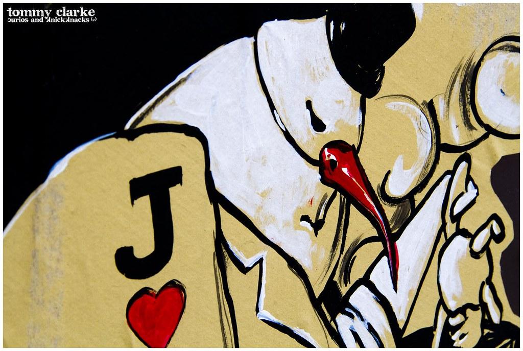 close up...J