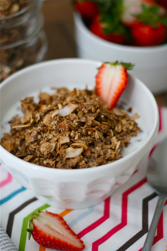 Chocolate Almond Granola Final 4