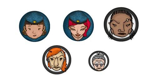Prison Escape characters