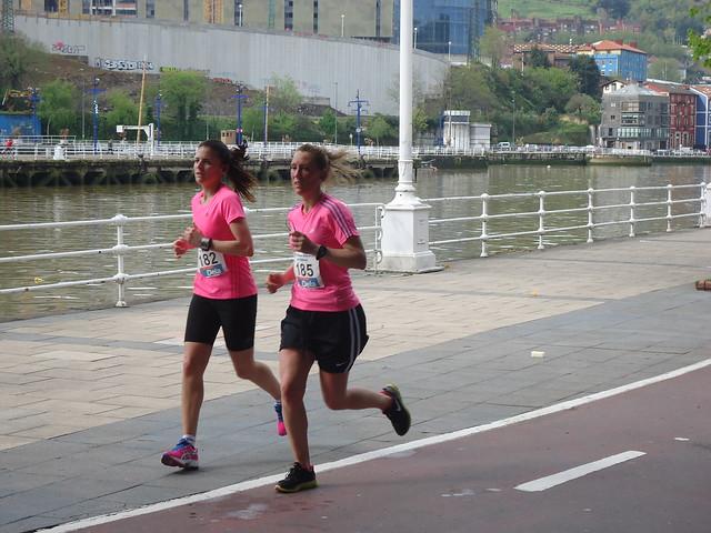 Media maratón de Bilbao