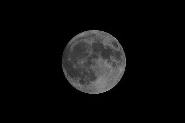 Supermoon - 5 May 2012