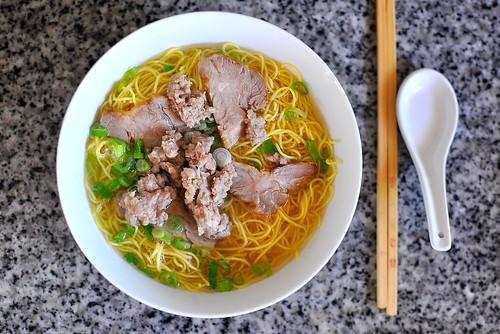 Hu Tieu Mi - Vietnamese Pork Noodle Soup