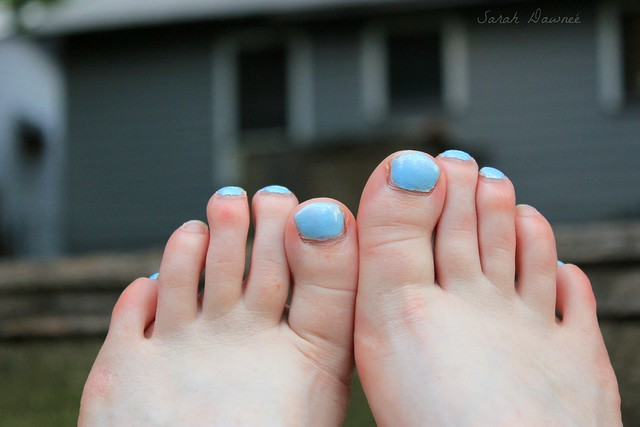 Summer toes...