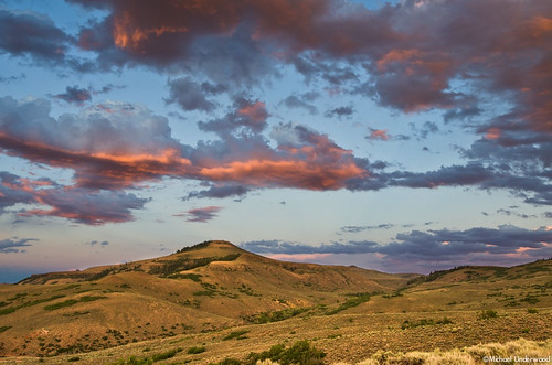 sunset mountain lake landscape colorado reservoir mesa cebolla bluemesa gunnisoncounty sapinero