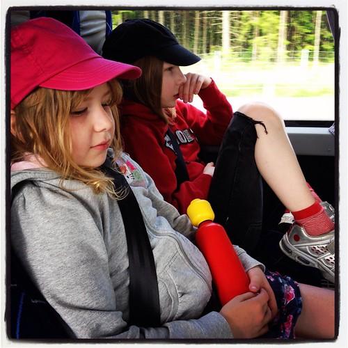 På bussen till Öregrund
