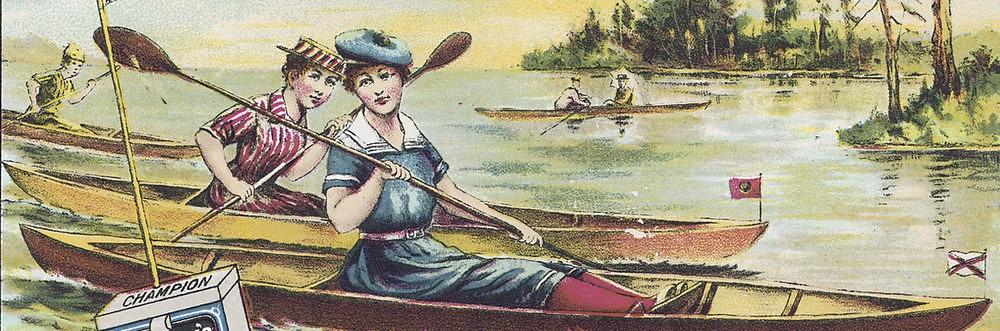 Kanootti- 1900
