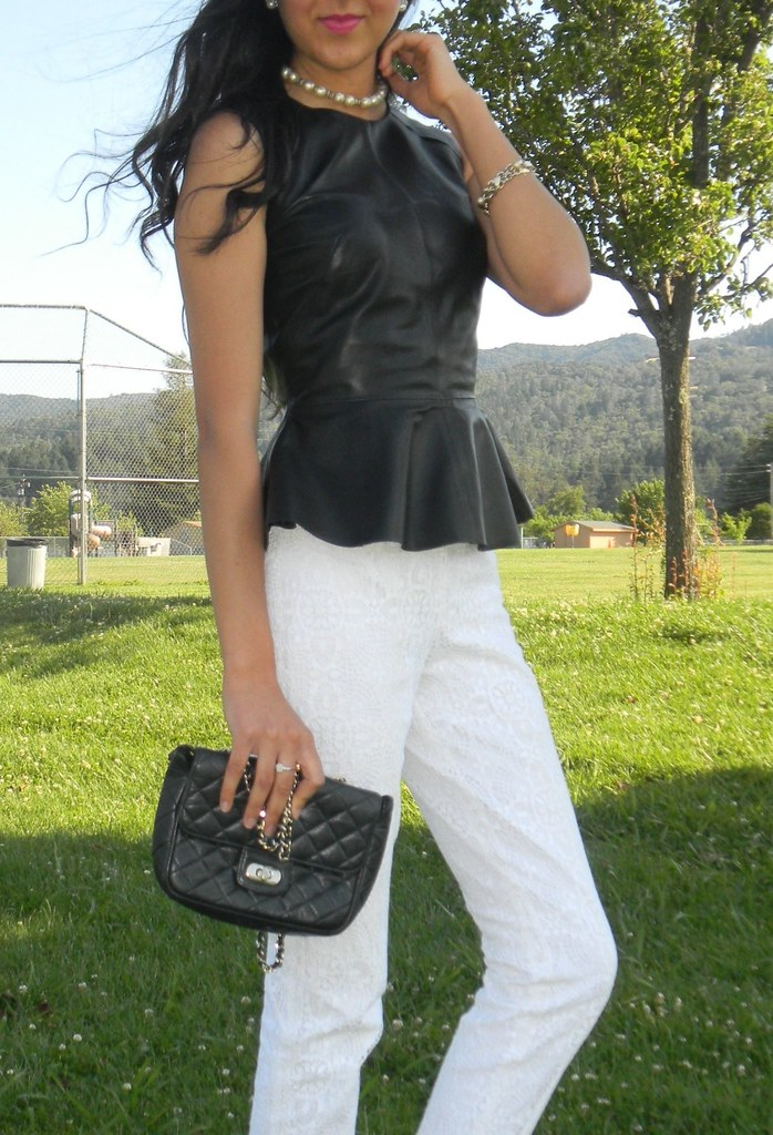 Leather peplum_3