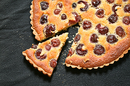 Cherry Frangipane Tart (7 of 8)