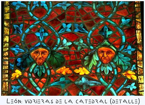 León: vidrieras de la catedral