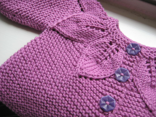 Little Leaves Baby Sweater