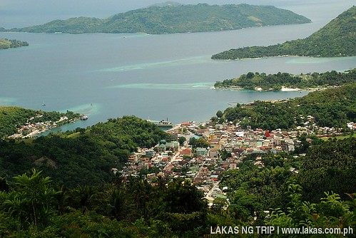 View of the town of Romblon from ITT
