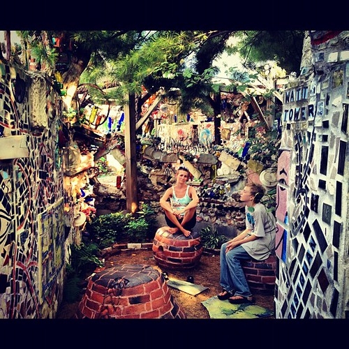 This place was so cool. Philadelphia Magic Gardens. #philly #art #mosaic