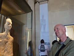 9000-year-old guy from 'Ain Ghazal at the Louvre, Paris