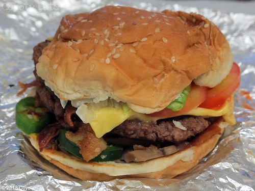 Five Guys fireworks burger by Coyoty