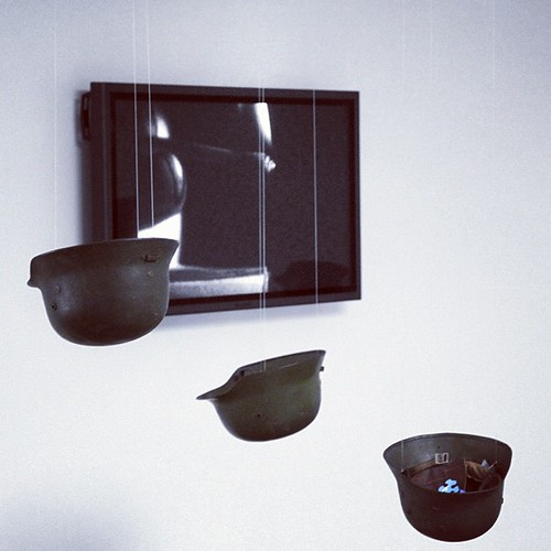 Yoko Ono HELMETS (2001/2012) @SerpentineUK: Take a piece of sky. Know that we are all part of each other. yoko by Yoko Ono official