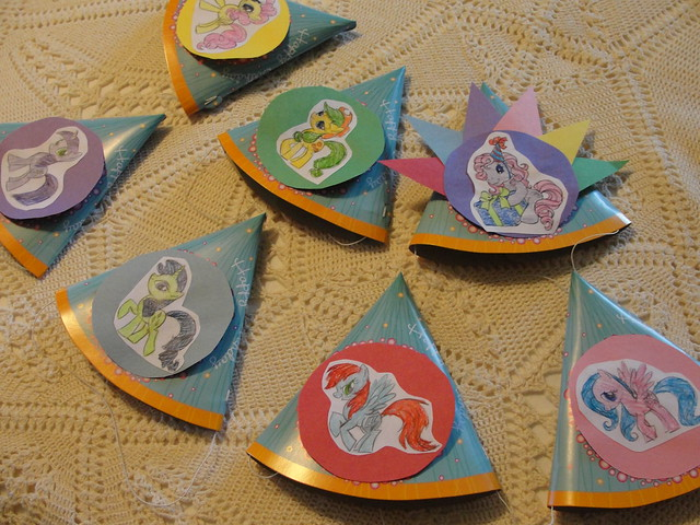 My Little Pony Birthday Hats 5